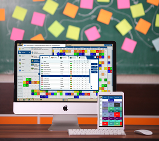 School scheduling software Mac, PC, iPad, iPhone, Android, Chromebook, Linux