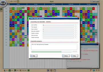 Automatic timetable generator